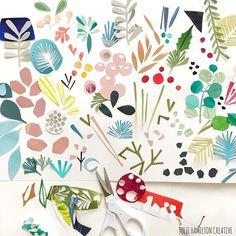 Botanical bits + bops for sunday's #sketchbook_studies