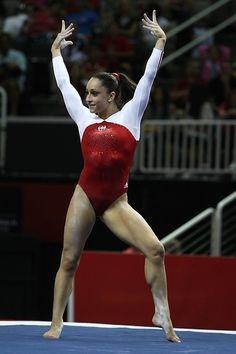 Women's finals 2012 U.S. Olympic Trials gymnastics