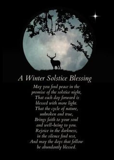 Full Moon Winter Card with your own Handwriting. Stephanie Laird Photography for Signed - Card No. 9916