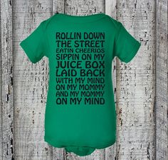 Check out this item in my Etsy shop https://www.etsy.com/listing/265168406/rollin-cheerios-baby-creeperbaby-girlboy