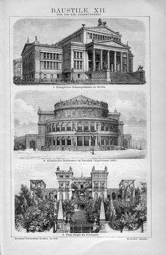 19th century architecture, Brockhaus