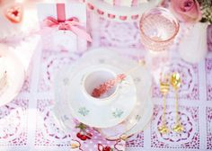 Dainty Mommy and Me Tea Party Ideas // Hostess with the Mostess®