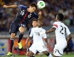 Shinji Kagawa sent a clear message to manager David Moyes with a goal in Japan's friendly win over Ghana on Tuesday