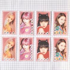 Polaroid Decoration, Blackpink Poster, Kpop Posters, Bullet Journal Aesthetic, Polaroid Pictures, Black Pink Kpop, Blackpink Photos, Blackpink Fashion, Journal Stickers