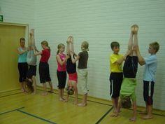 telinevoimistelu Acro, Physical Education, Teacher, Yoga, Activities, Sports, Fun, Hs Sports, Professor