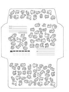 Шаблоны для распечатки: конверты ..