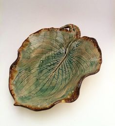 leaf plate...love this and I can make it!
