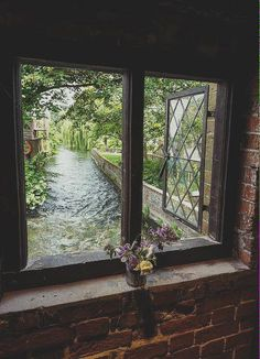 Window with view by Allan Harris