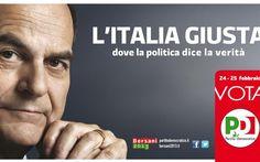 Pier Luigi Bersani - 2013 - Partito Democratico - Official Banner