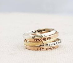 Hey, I found this really awesome Etsy listing at https://www.etsy.com/listing/522879091/inspiration-ring-personalized-ring