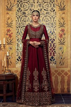 Check Out MARIA B. Latest Darya Noor Embroidered Bridal Chiffon Collection Replica at Master Replica Pakistan Call/WhatsApp: Pakistani Couture, Pakistani Wedding Dresses, Pakistani Outfits, Pakistani Clothing, Indian Dresses, Bridal Anarkali Suits, Bridal Lehenga, Bridal Gowns, Maria B Bridal