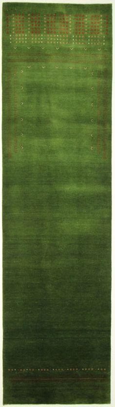 Loribaft Gabbeh  Teppiche  Moderno Tappeto Alfombra 330 x 91 cm Rugs