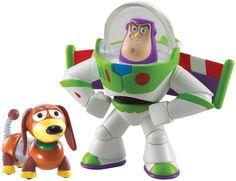 Disney/Pixar Toy Story 20th Anniversary Buzz Lightyear and Slinky Dog Figure Buddy 2-Pack