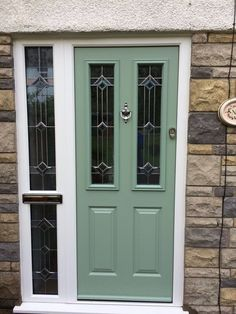 Doors, Outdoor Decor, Tall Cabinet Storage, Green Colors, Front Door, Front Entrances, Color Options, Panel Siding, Traditional Style Homes