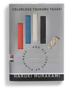 "The Best Book Covers of 2014 - NYTimes.com Design by Chip Kidd. ""Colorless Tsukuru Tazaki and his Years of Pilgrimage"" by Haruki Murakami."