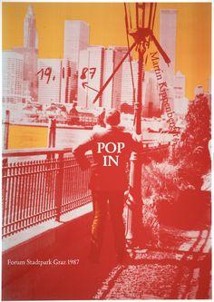 Martin Kippenberger, Pop In, from the portfolio Gute Rückentwicklung kennt keine Ausreden (Good Reverse Development Knows No Excuses), 1987 · SFMOMA