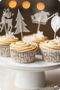 cupcakes de turron_caramel cookie