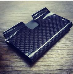 The carbon fiber business card holder and slim carbon fiber money rc fibers makes carbon fiber money clips wallets tie clips business card holders and other cool mens products in our san diego shop colourmoves