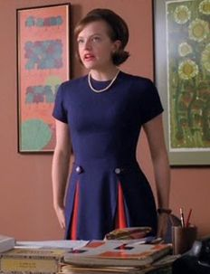 This is the dress! Peggy from Madmen.