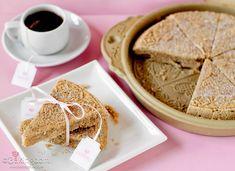 Chai Tea Shortbread Cookies with printable tag