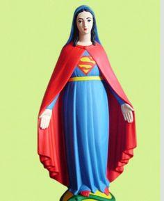 Wonder Woman Mary...scusate ma mi fa troppo ridere.