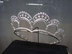 A Chaumet diamond tiara