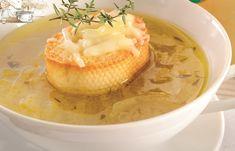 Supă de ceapă Supe, Hummus, Thai Red Curry, Ethnic Recipes, Food, Homemade Hummus, Meal, Eten, Meals