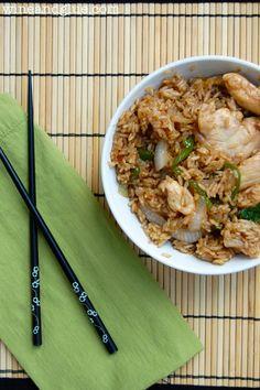 Thai Basil Fried Rice - Wine & Glue