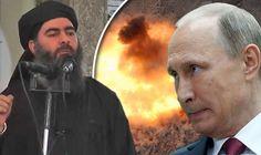 BREAKING: ISIS leader KILLED? Russia claims air strike has CRUSHED Abu Bakr al-Baghdadi