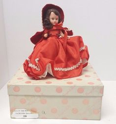 Nancy Ann Storybook Dolls of the Month Series For December Just a Dear 198 #NancyAnnStoryBookDolls #Dolls