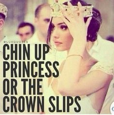 #Bad day Not quite a princess, but I understand the crown can represent many things. So keep going if it's a mess.