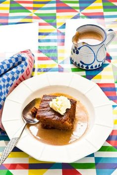 Sticky toffee pudding made in the best possible way
