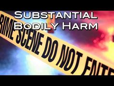 What injuries count as substantial bodily harm in Nevada law? Crime enhancements - YouTube
