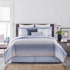 Real Simple® Parker Duvet Cover Set in Blue - BedBathandBeyond.com