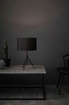 Markslöjd Bordlampe SLING 1L - Svart - Bordlamper - Ellos.no Lighting, Home Decor, Homemade Home Decor, Lights, Lightning, Decoration Home, Interior Decorating
