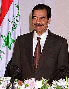 Saddam Hüseyin - Vikipedi