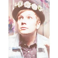 Patrick Stump Fall Out Boy ❤ liked on Polyvore featuring pictures, bands, fall out boy, icons and patrick stump