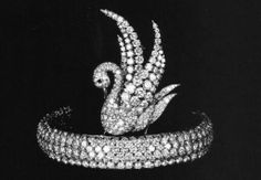 Swan Chignon diamond tiara, description says for Princess Grace of Monaco but I haven't found any information to confirm that.