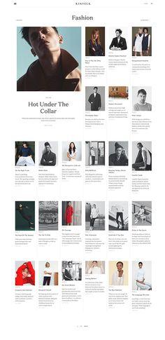 Kinfolk Website   Six