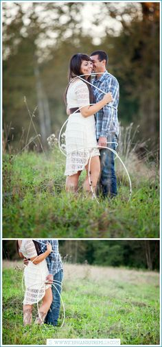 Tino & Brittany | Bellingham Engagement Photographer - Stephanie Stremler Photography Blog | Rustic Western Engagement Session with horses, boots and barns | www.stephaniestremler.com/blog