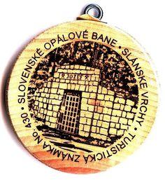Turistická známka  Slovenské opálové bane. Štôlňa JOZEF. Prague, Tourist Spots, Bane, Flask, Opal, Opals