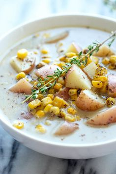 Slow-Cooker Potato Corn Chowder