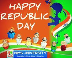 PROF. (DR.) BALVIR S. TOMAR: HAPPY REPUBLIC DAY PHOTO | NIMS CHAIRMAN NEWS