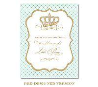 8x10 Crown Prince Sign