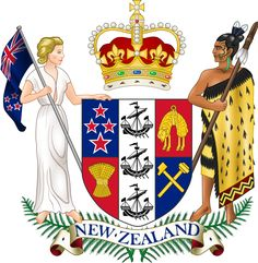 Coat of arms of New Zealand - New Zealand - Wikipedia, the free encyclopedia