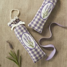 Lavendar Scented Sachet Favors - Set of 24 - Wedding Favor Gift ideas