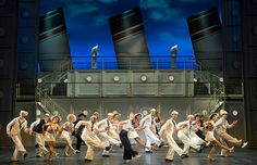 Act One Tap Finale. Photo by Joan Marcus.