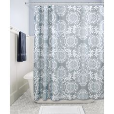 Abstract Art Shower Curtainred Black Gray White Curtain Shadow Land Visit The Image Link More Details