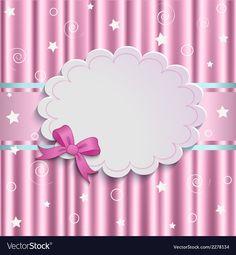 Gentle pink background vector image on VectorStock Free Vector Images, Vector Free, Poster Background Design, Single Image, Paper Background, African Art, Scrapbook Paper, Vintage Designs, Balloons