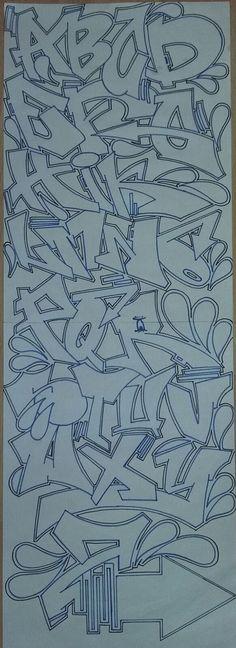 Graffiti Lettering Alphabet, Graffiti Alphabet Styles, Graffiti Words, Graffiti Writing, Tattoo Lettering Fonts, Graffiti Designs, Graffiti Artwork, Font Art, Graffiti Styles